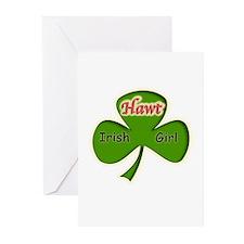 Hawt Irish Girl Greeting Cards (Pk of 10)