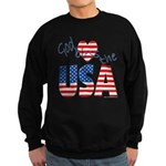 God Bless the USA Sweatshirt (dark)