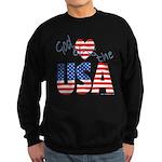 God Bless the USA Sweatshirt (dark)