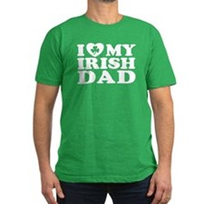 I Love My Irish Dad T