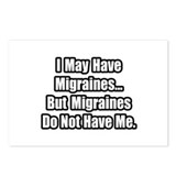 """Migraines Quote"" Postcards (Package of 8)"