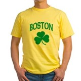 Boston Irish Shamrock T