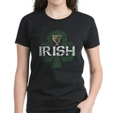 Irish Shamrock Erin Go Bragh Women's Dark T-Shirt