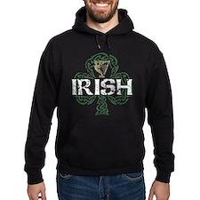 Irish Shamrock Erin Go Bragh Hoodie