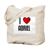 I LOVE ADRIEL Tote Bag