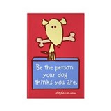 Be The Person Rectangle Magnet (100 pack)