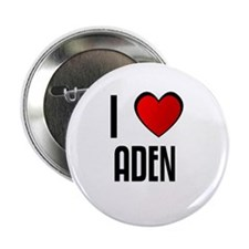 "I LOVE ADEN 2.25"" Button (100 pack)"