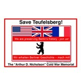 Save Teufelsberg! Postcards (Package of 8)