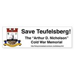 Save Teufelsberg! Bumper Sticker (10 pk)