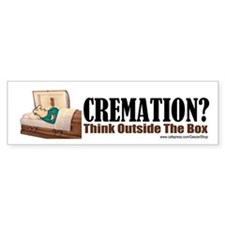 Cremation (Bumper Sticker)