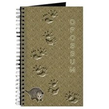 Opossum and Tracks Journal