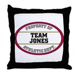 Jones  Throw Pillow