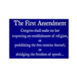 1st Amendment Magnets (100)