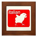 ITALIAN Framed Tile