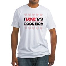 I Love My Pool Boy Shirt