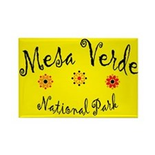 Mesa Verde Super Cute Rectangle Magnet