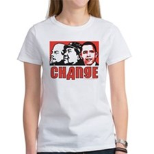 Lenin Mao anti Obama Change Tee