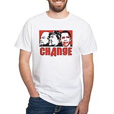 Lenin Mao anti Obama Change Shirt