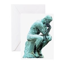 The Thinker Greeting Cards (Pk of 20)