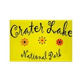 Crater Lake Super Cute Rectangle Magnet