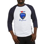Police Boyfriend Baseball Jersey