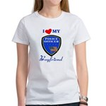 Police Boyfriend Women's T-Shirt