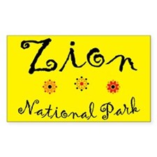 Zion Super Cute Rectangle Decal