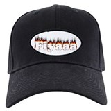 Black-Red Fiyaaa Baseball Hat