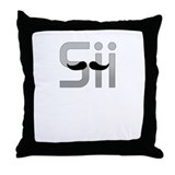 Sii I play Wii Throw Pillow