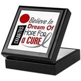 BELIEVE DREAM HOPE Diabetes Keepsake Box