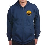 Massage Therapist Zipped Hoodie
