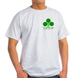 St. Patty's Day Highland Games grey shirt