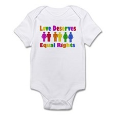 Love Deserves Equal Rights Infant Bodysuit