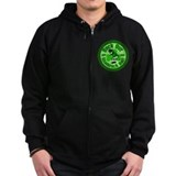 Rock Out with your Shamrock Out Zip Hoody