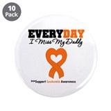"Leukemia MissMyDaddy 3.5"" Button (10 pack)"