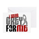 I Wear Grey For Me 6 Greeting Cards (Pk of 20)