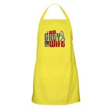 I Wear Grey For My Wife 6 BBQ Apron
