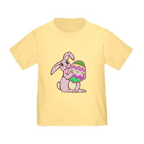 Pink Easter Bunny Toddler T-Shirt