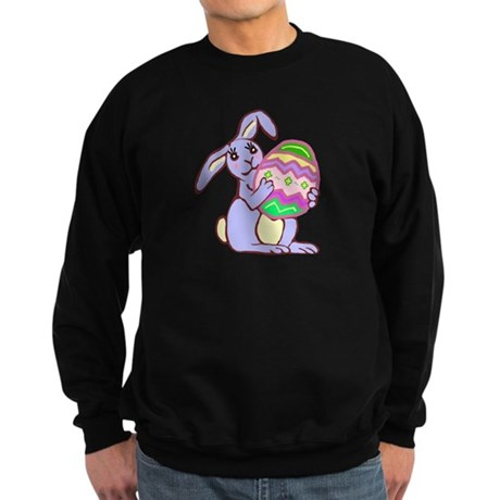 Blue Easter Bunny Sweatshirt (dark)