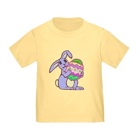 Blue Easter Bunny Toddler T-Shirt