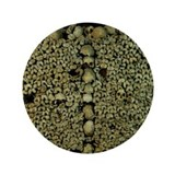 "Paris Catacombs 3.5"" Button"