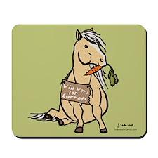Funny Horse Mousepad
