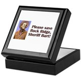 Sheriff Bart Keepsake Box
