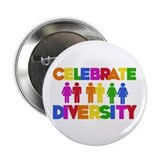 "Celebrate Diversity 2.25"" Button (10 pack)"
