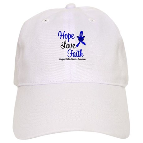 ColonCancer HopeLoveFaith Cap