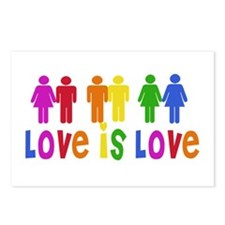 Love is Love Postcards (Package of 8)