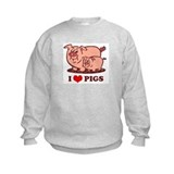I Love Pigs Jumpers