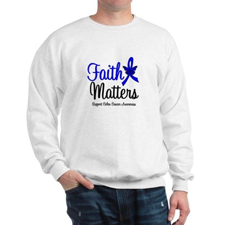 Colon Cancer Faith Matters Sweatshirt