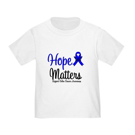Colon Cancer Hope Matters Toddler T-Shirt