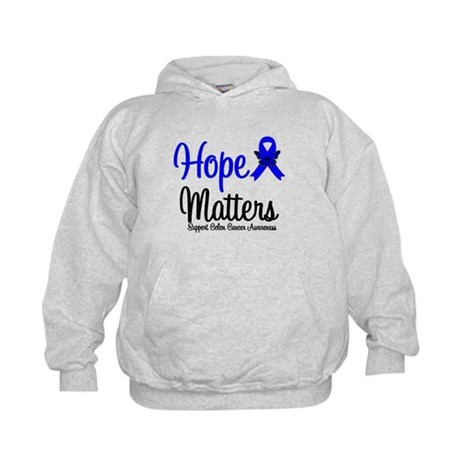 Colon Cancer Hope Matters Kids Hoodie